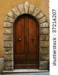 vintage door | Shutterstock . vector #37216207