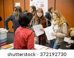 strasbourg  france   feb 4 ... | Shutterstock . vector #372192730