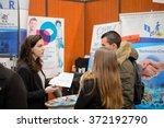 strasbourg  france   feb 4 ... | Shutterstock . vector #372192790