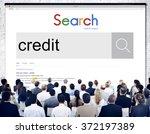 credit finane banking business... | Shutterstock . vector #372197389
