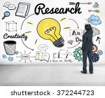 research searching discovery... | Shutterstock . vector #372244723