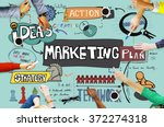 marketing commercial... | Shutterstock . vector #372274318