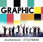 graphic creative design visual...   Shutterstock . vector #372278848