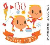 people and sports activities ...   Shutterstock .eps vector #372307678