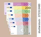 Colorful 500 Euro  200 Euro ...