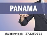 Panama Word Business Man Touch...