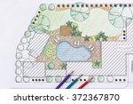 landscape architect design... | Shutterstock . vector #372367870