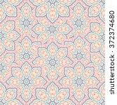 Seamless Mandala Pattern ...