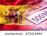 National Flag Of Spain And Eur...