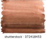 abstract watercolor brown...   Shutterstock . vector #372418453