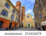 Romanesque Church With High...
