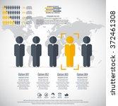 business management  strategy... | Shutterstock .eps vector #372461308