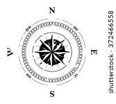 compass navigation dial  ... | Shutterstock .eps vector #372466558