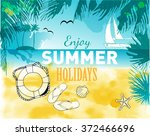 watercolor vector background of ... | Shutterstock .eps vector #372466696