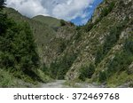 caucasus mountains  canyon of...   Shutterstock . vector #372469768