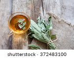 Herbal Tea With Sage Toned Photo