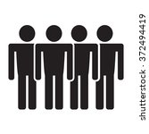 population people icon... | Shutterstock .eps vector #372494419