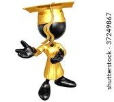 mini o.g. graduation | Shutterstock . vector #37249867