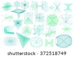 big collection of elements ...   Shutterstock .eps vector #372518749
