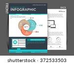 vector business corporate flyer ... | Shutterstock .eps vector #372533503