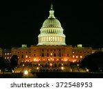 Stock photo us capitol building in washington dc usa 372548953
