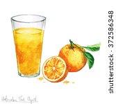 watercolor food clipart  ...   Shutterstock . vector #372586348