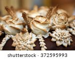 traditional ukrainian wedding... | Shutterstock . vector #372595993