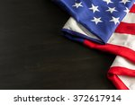 large american flag on the... | Shutterstock . vector #372617914