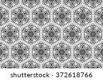 elements of black on glass.... | Shutterstock . vector #372618766