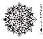 black and white illustration of ...   Shutterstock .eps vector #372640630