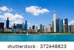 Chicago Skyline   Usa