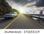 winding road background   Shutterstock . vector #372653119