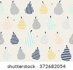cute colorful abstract pear...