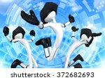 virtual reality   Shutterstock . vector #372682693