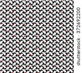 double seamless pattern with...   Shutterstock .eps vector #372692200