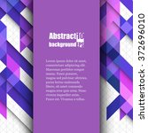 brochure template with abstract ... | Shutterstock .eps vector #372696010