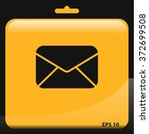 mail envelope icon. letter...