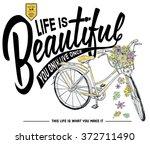 illustration handmade drawing...   Shutterstock .eps vector #372711490