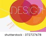 book cover  background design ... | Shutterstock .eps vector #372727678