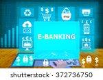technology and biz concept.... | Shutterstock . vector #372736750