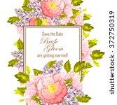 vintage delicate invitation...   Shutterstock .eps vector #372750319