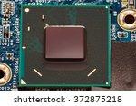 modern computer chip | Shutterstock . vector #372875218