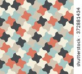 seamless vector pattern.... | Shutterstock .eps vector #372881434