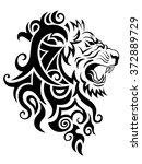 lion  | Shutterstock . vector #372889729