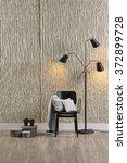 decorative lamp concrete wall... | Shutterstock . vector #372899728