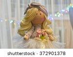 souvenir handmade doll with... | Shutterstock . vector #372901378
