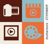 video frame design  vector... | Shutterstock .eps vector #372908809