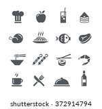 food icons   2    utility series | Shutterstock .eps vector #372914794