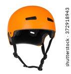 bicycle helmet on white    Shutterstock . vector #372918943