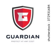 security company logo ready to... | Shutterstock .eps vector #372931684